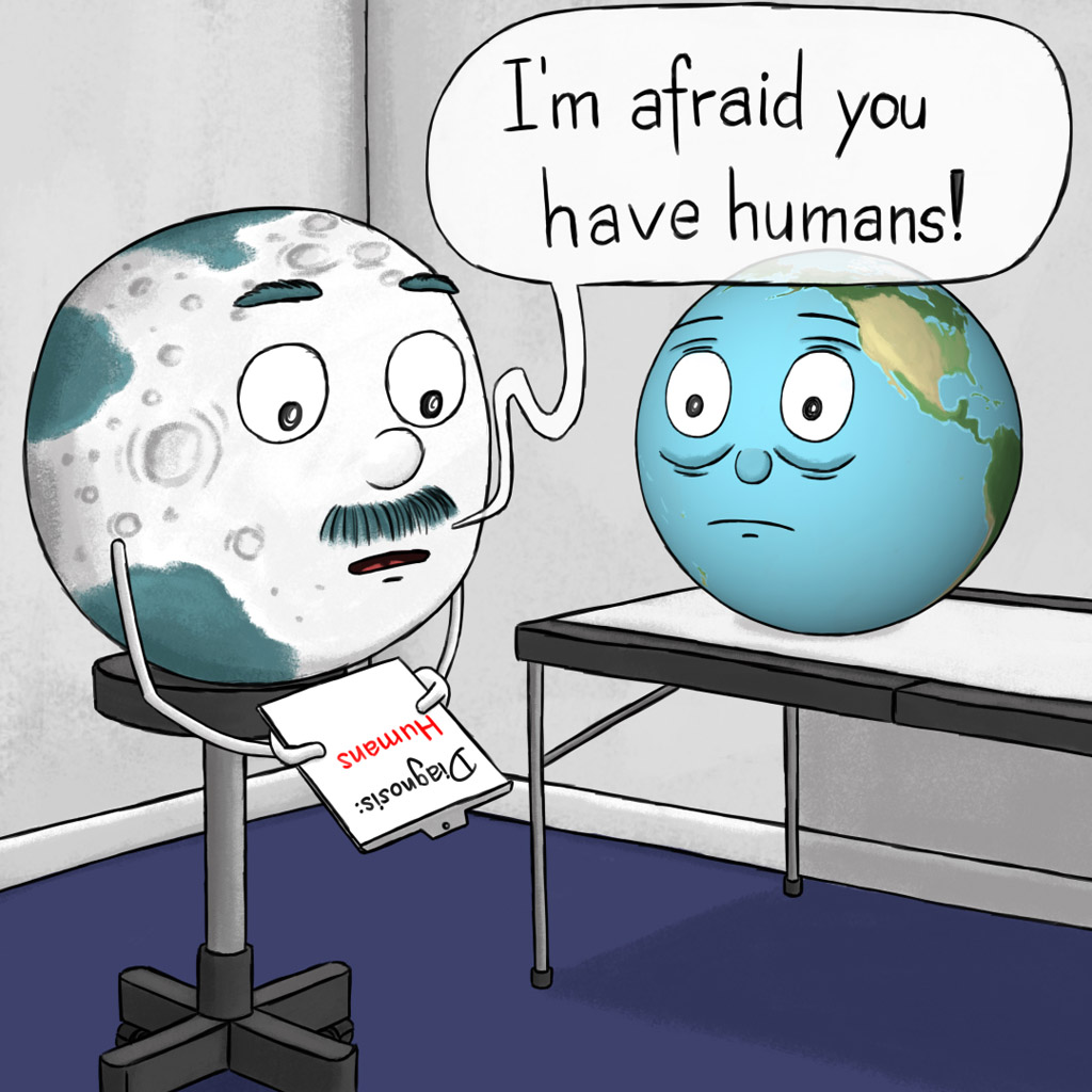 I'm afraid you have humans!