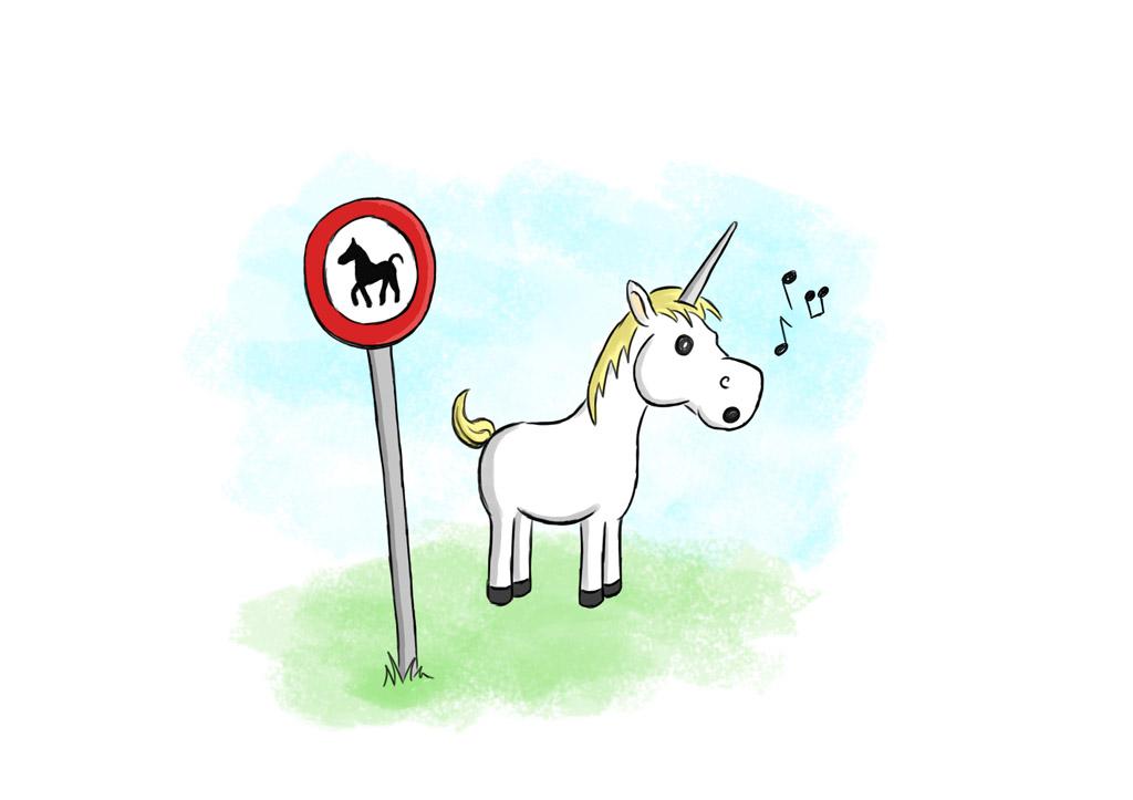 Pferde verboten