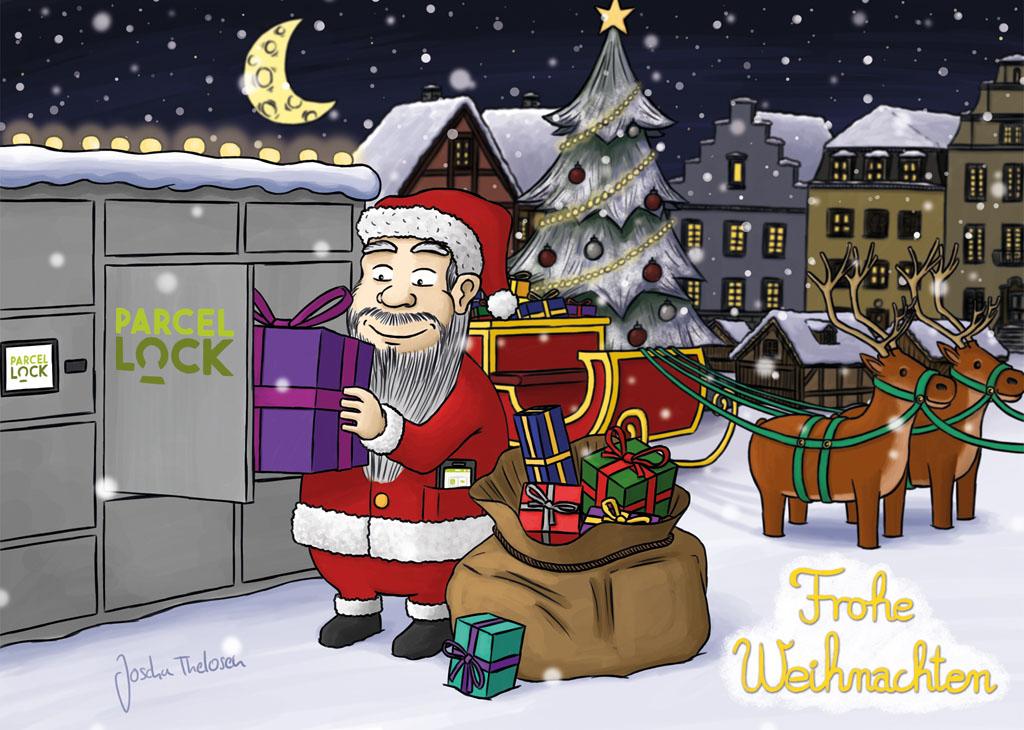 ParcelLock – Weihnachtskarten